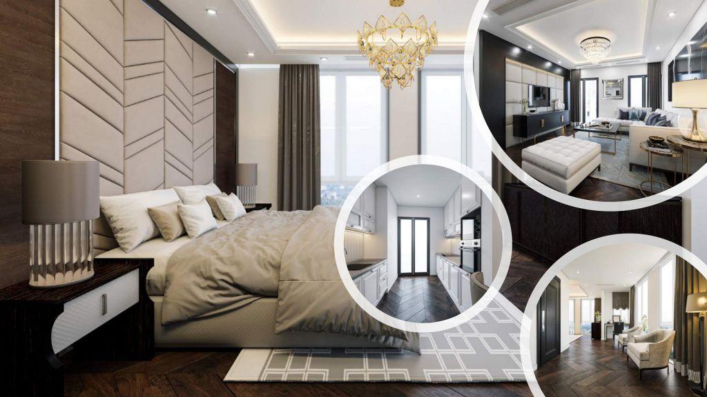 phòng ngủ chung cư t-place