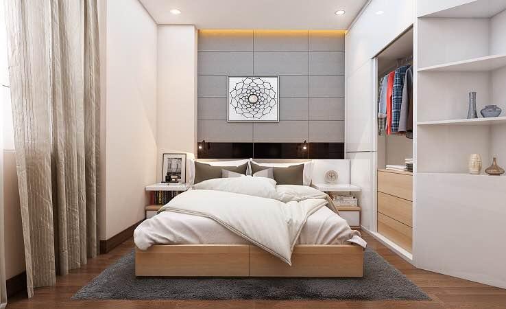 phòng ngủ chung cư xuân mai tower thanh hóa