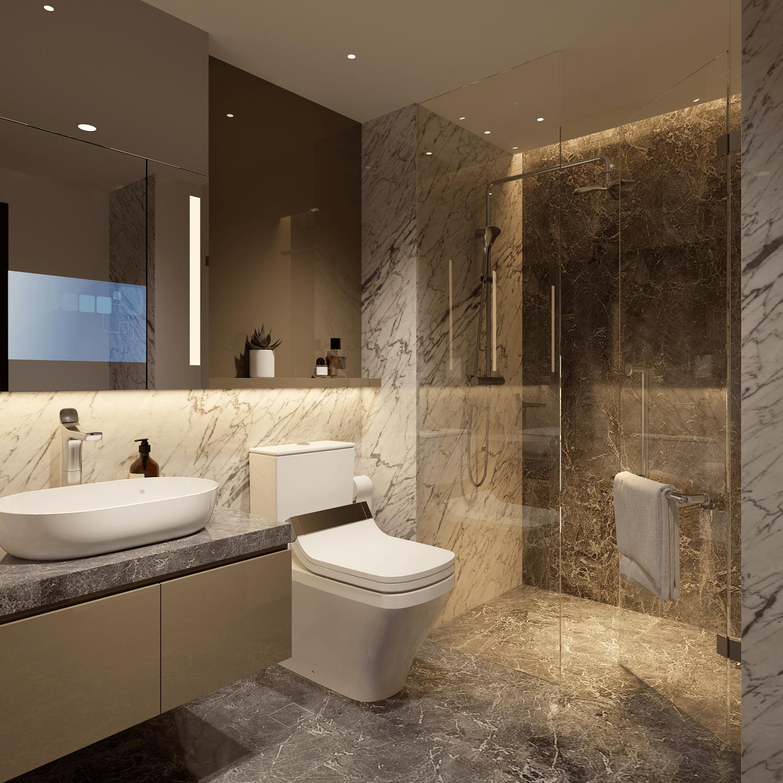 phòng tắm the matrix one