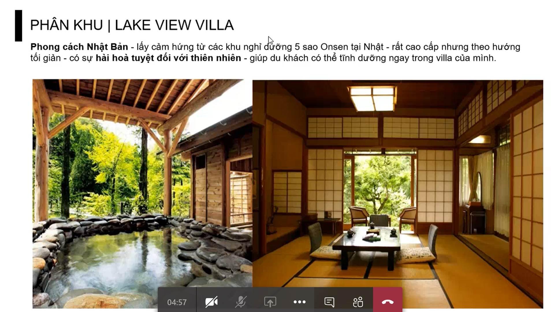 phân khu dự án Spring Hills Tuyên Quang