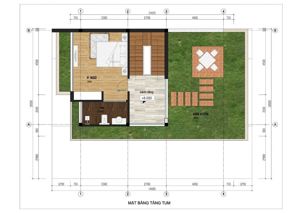 thiết kế boutique garden villas
