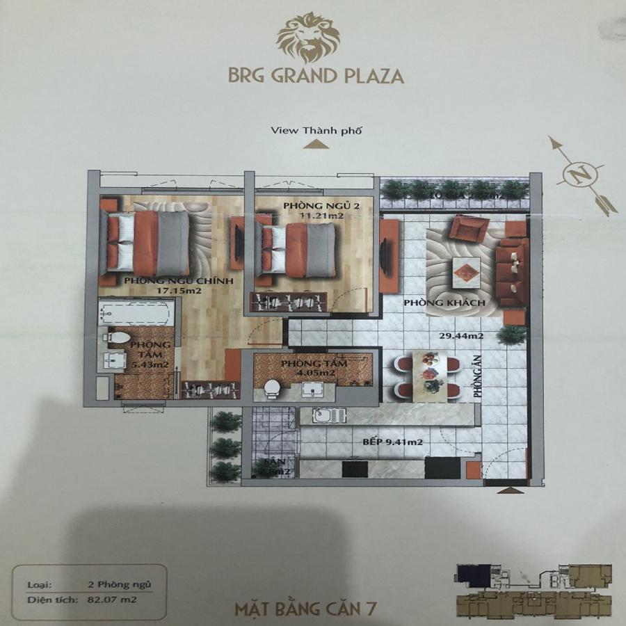 thiết kế chung cư brg grand plaza căn 07