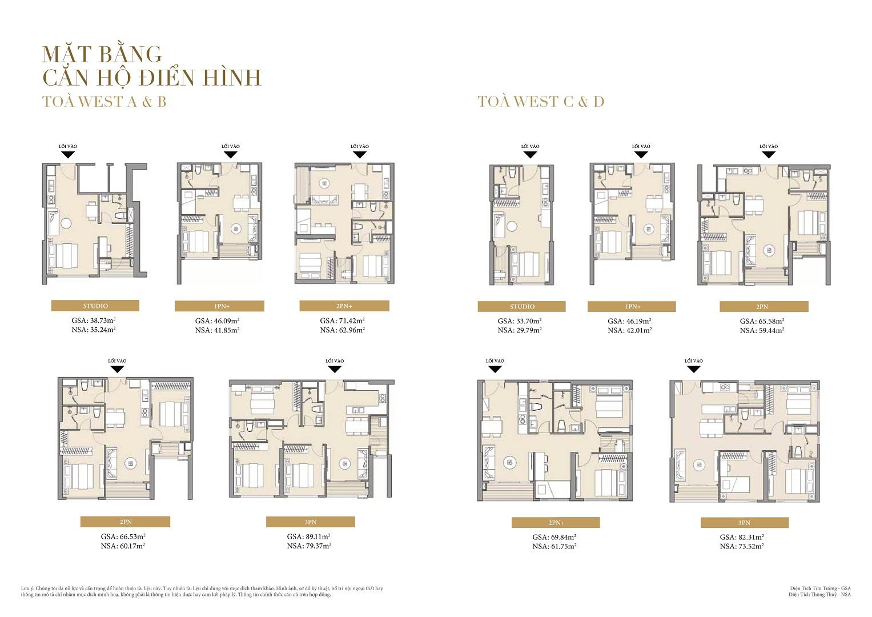 thiết kế chi tiết căn hộ masteri west heights