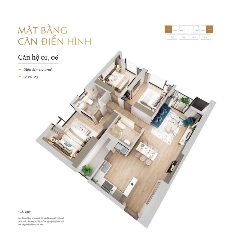 thiết kế căn hộ the matrix one