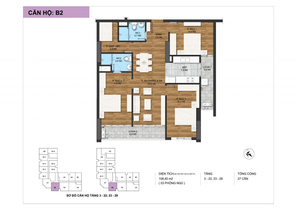 thiết kế chung cư c22 bộ công an