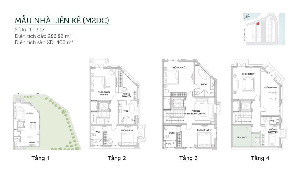 thiết kế biệt thự elegant park villa