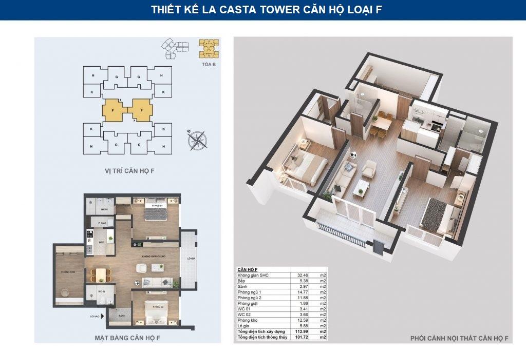 thiết kế căn hộ chf