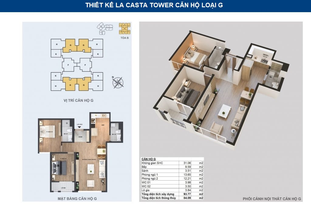thiết kế căn hộ chg