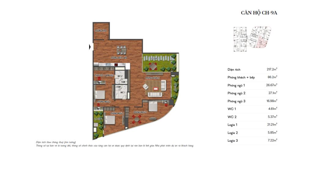 thiết kế manhattan tower căn hộ ch9a