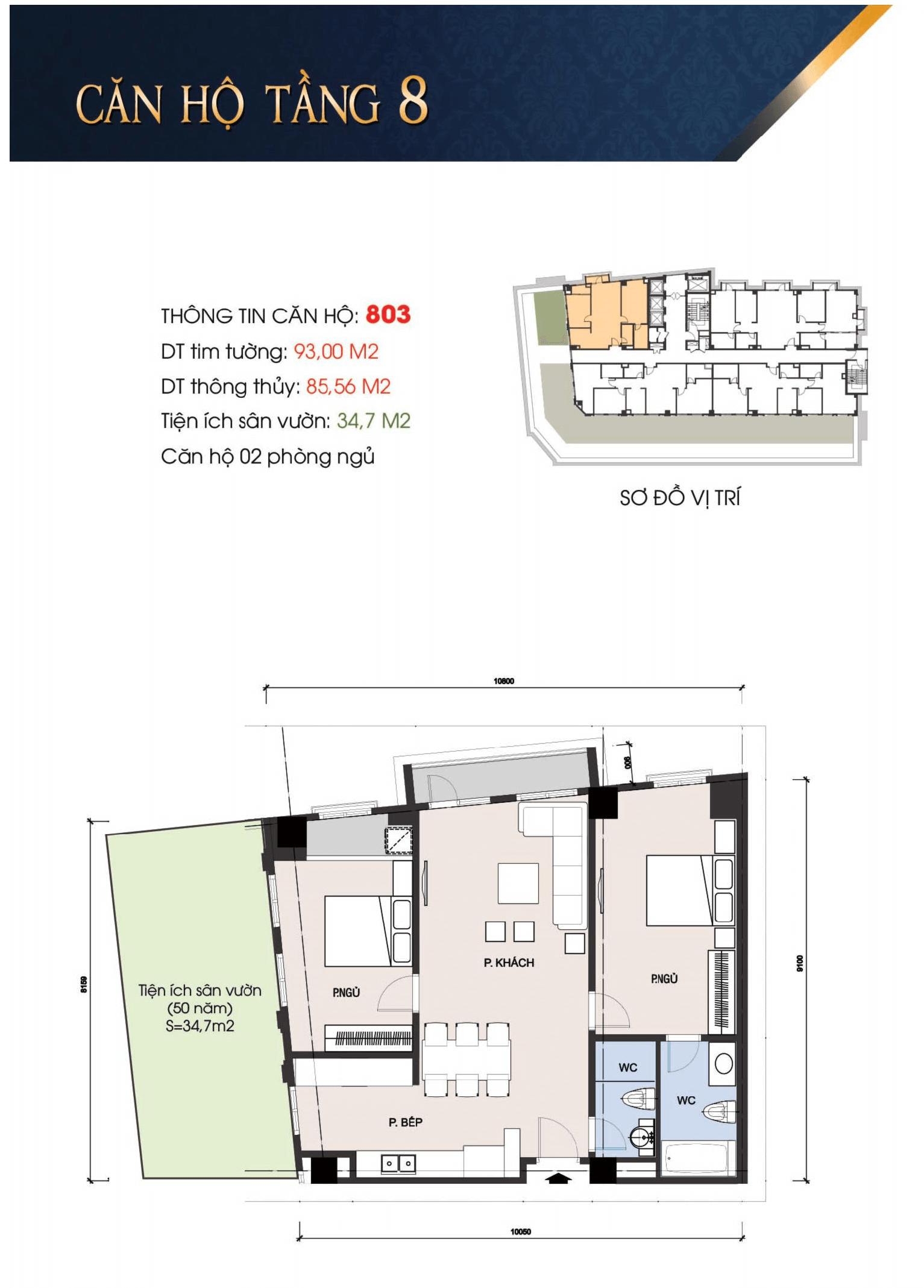 thiết kế t-place căn 803