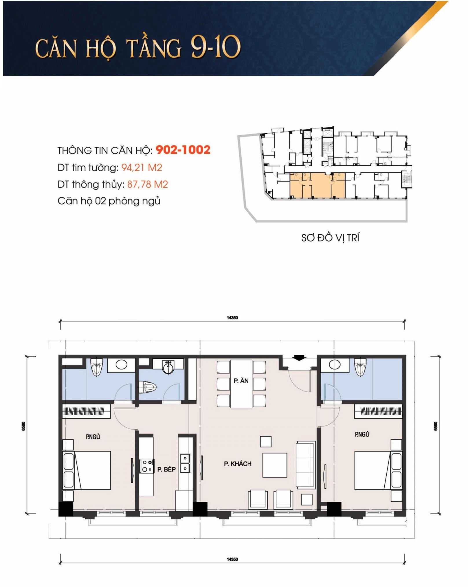 thiết kế t-place căn 902, 1002