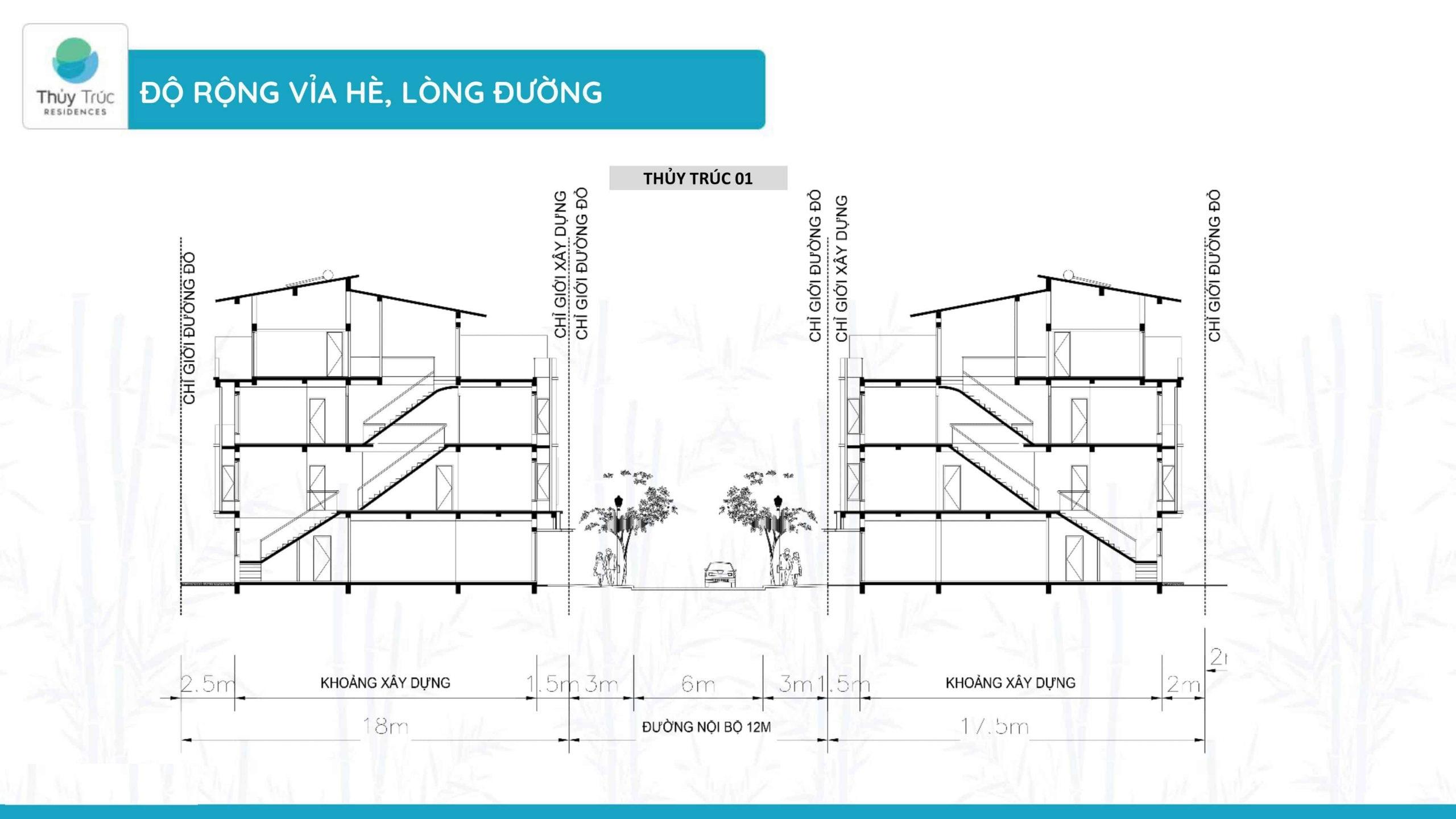 thông số kỹ thuật nhà phố thủy trúc