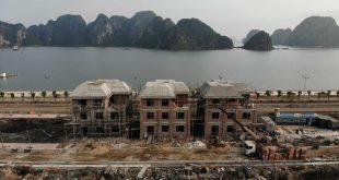 tiến độ xây dựng dự án green dragon city tháng 4 năm 2020