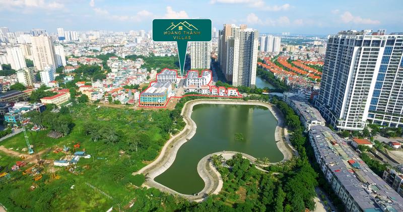 tiến độ dự án hoàng thành villas