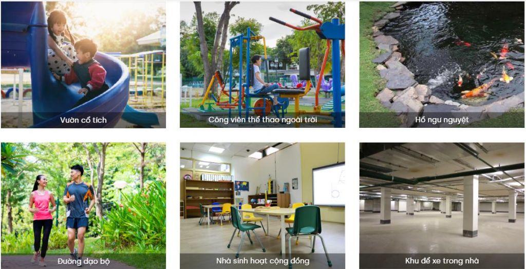 tiện ích nhà ở xã hội green homes từ sơn