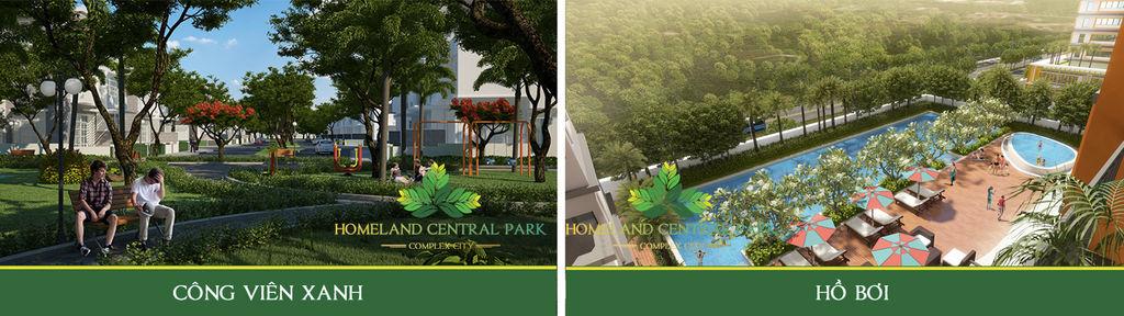 tiện ích homeland central park