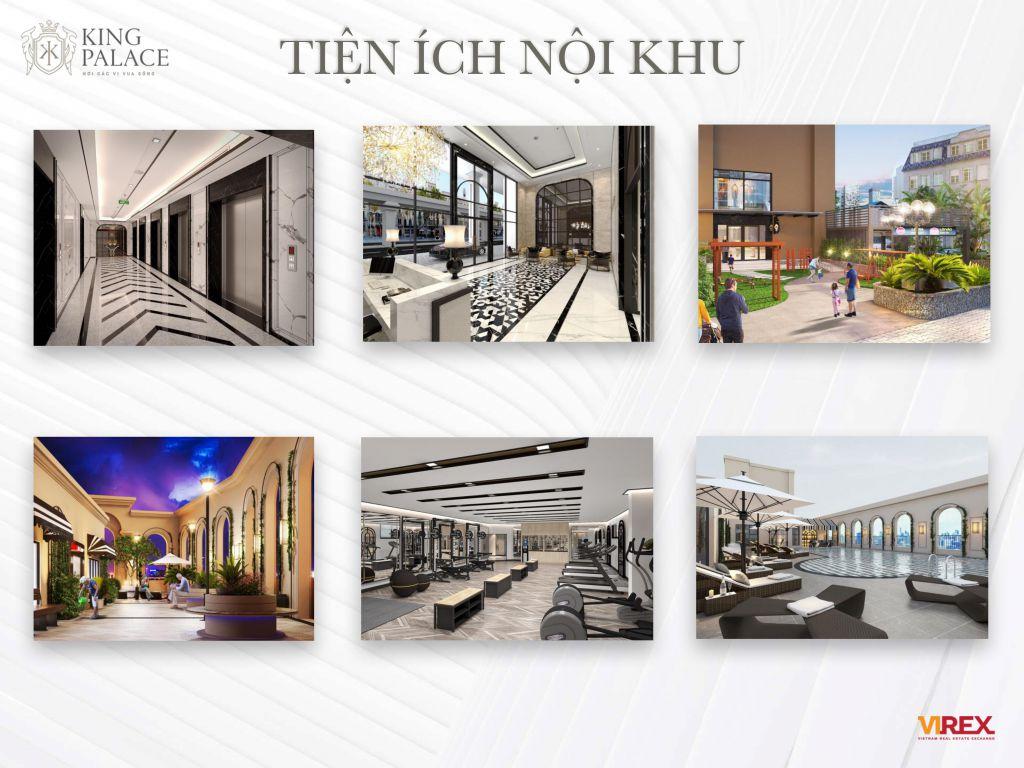 tiện ích dự án chung cư king palace 108 nguyễn trãi