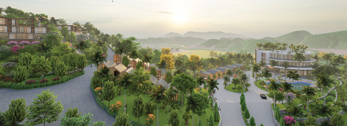 tiện ích dự án long thành hòa bình luxury resort