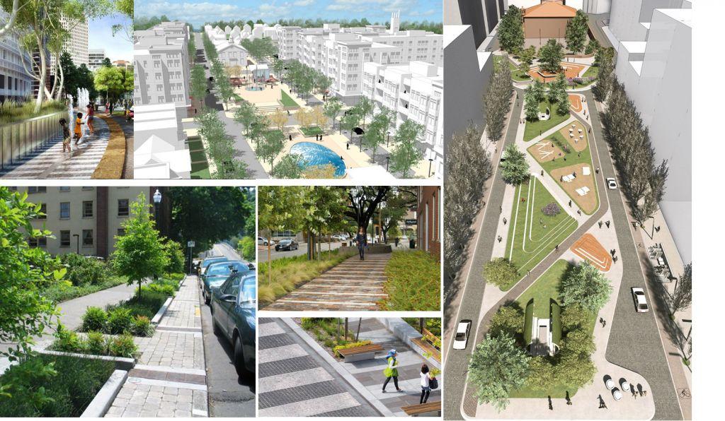 tiện ích dự án new city phố nối