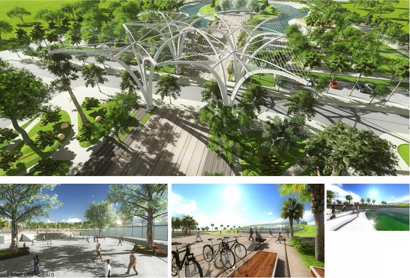 tiện ích dự án sol lake villa