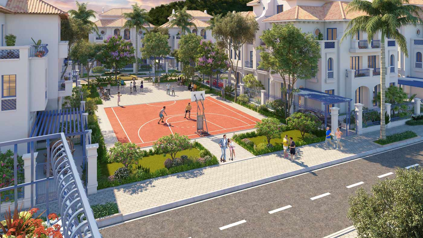 tiện ích dự án sun grand city feria