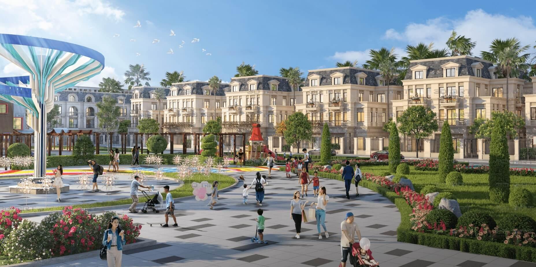 công viên tnr grand palace thái bình
