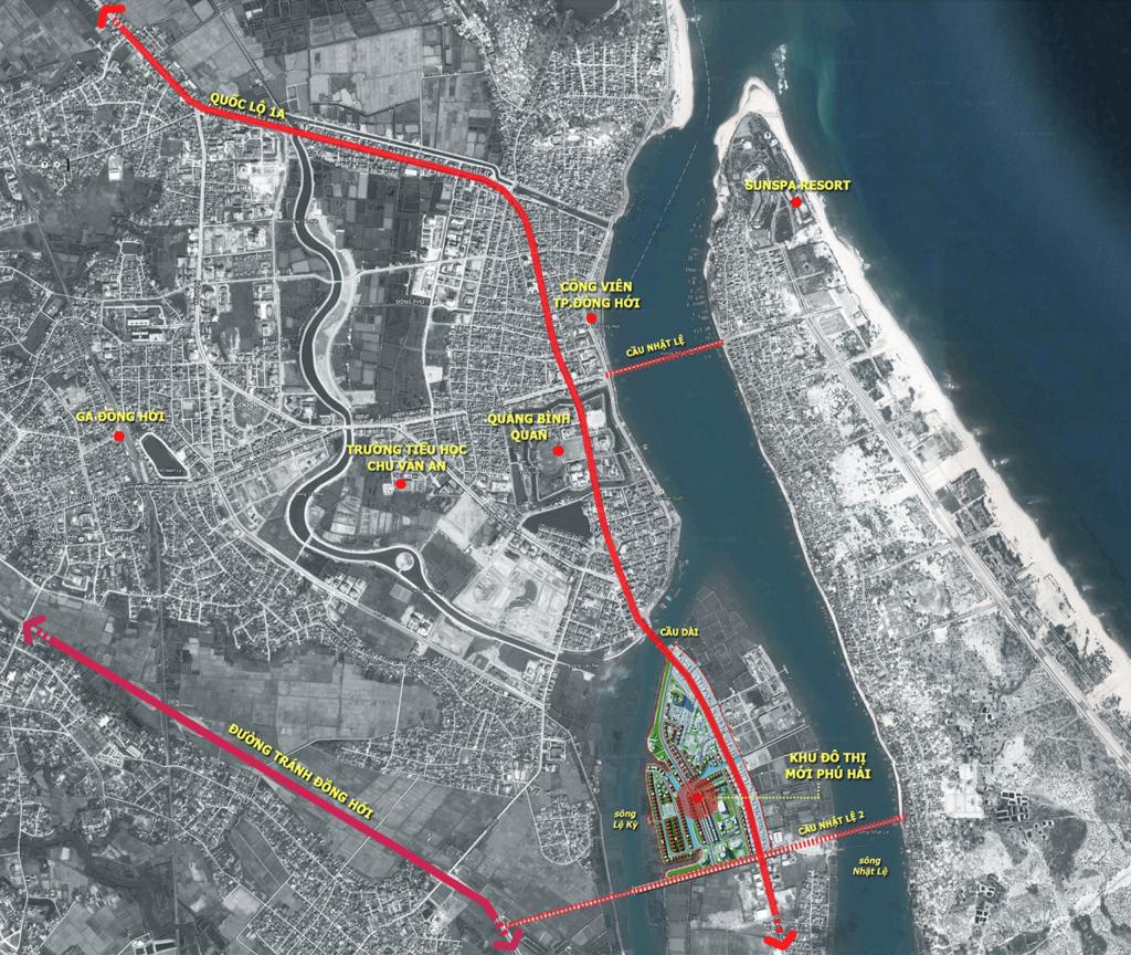 vị trí khu đô thị phú hải riverside
