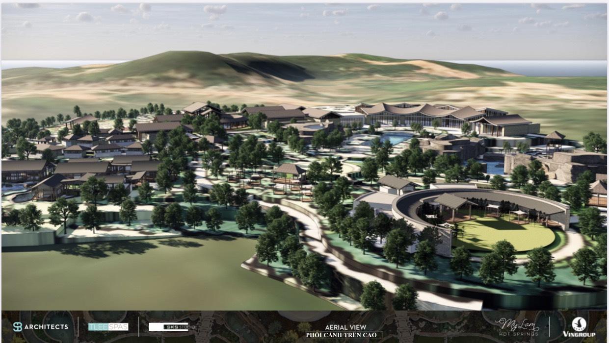 tiện ích dự án Spring Hills Tuyên Quang
