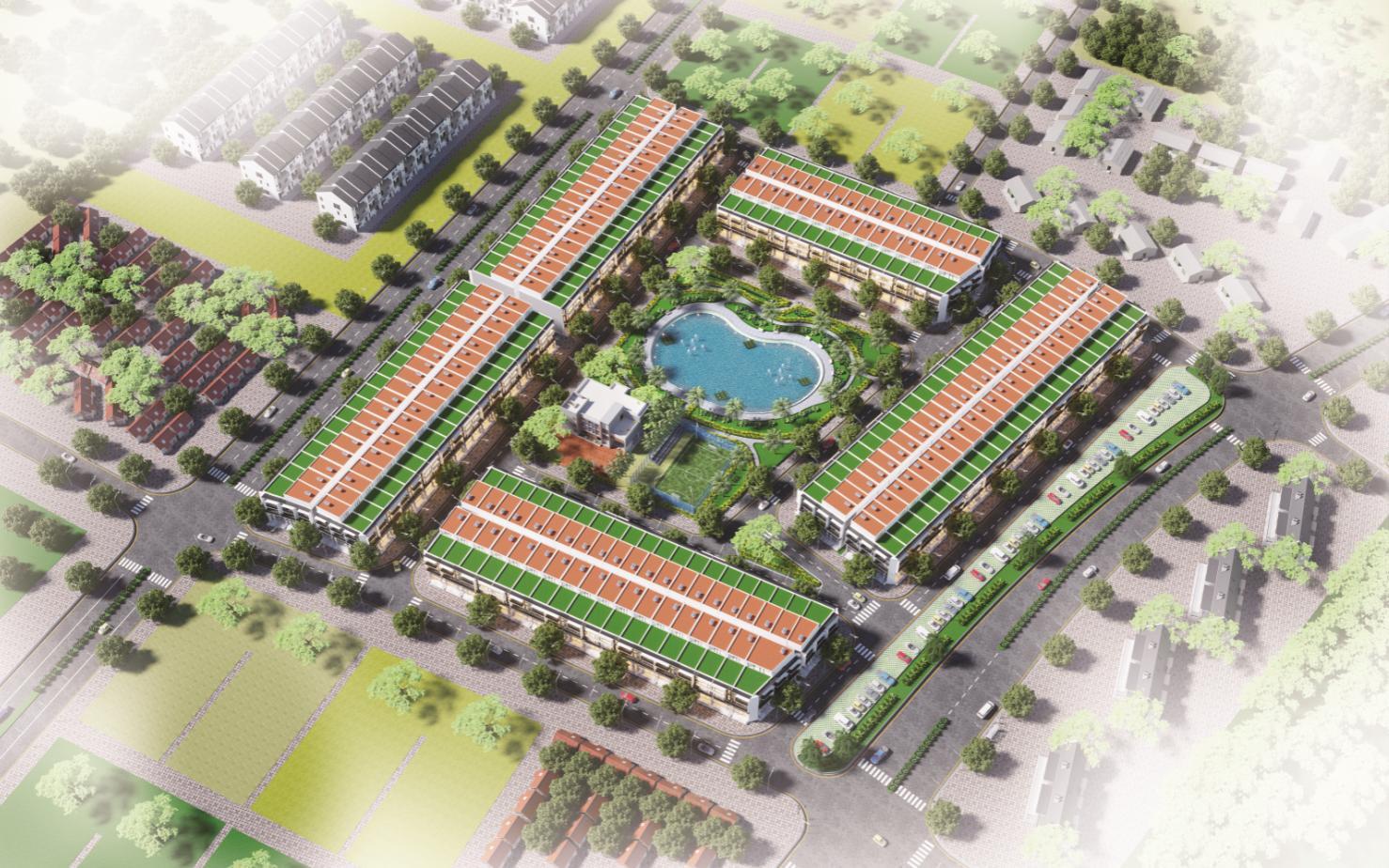 dự án yên dũng green park
